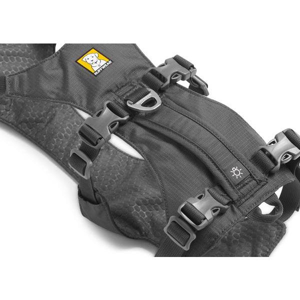 flagline harness grey top